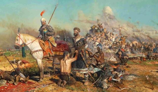 The capture of Mtislav of KIev
